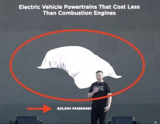 Elon Musk Planning for Small Autonomous Electric Hatchback worth 25000