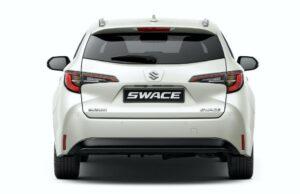 Suzuki Swace hybrid Estate car Rear View