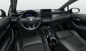Suzuki Swace hybrid Estate car front cabin interior