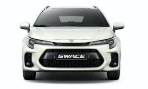 Suzuki Swace hybrid Estate car front viewJPG