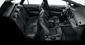 Suzuki Swace hybrid Estate car full interior view
