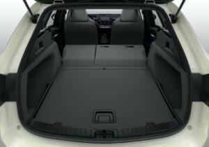 Suzuki Swace hybrid Estate car luggage area view