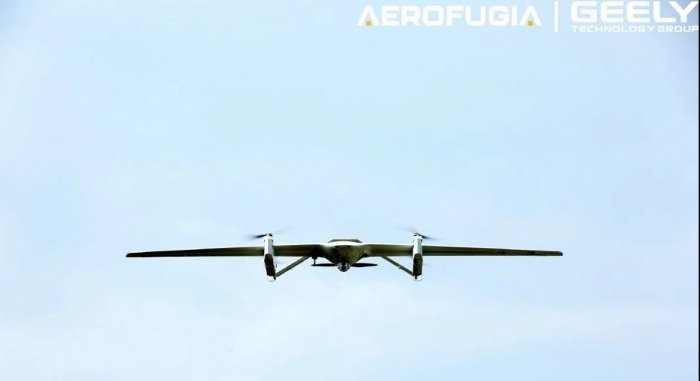 X Chimera 25 a newly released Drone by Geely with Towing Capacity of 6KG