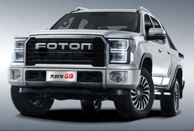 foton big general the upcoming copy of ford 150 by company