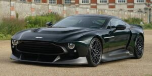 jaw dropping aston martin Victor Super Sport car based one 77 Front view