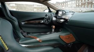 jaw dropping aston martin Victor Super Sport car based one 77 interior crafting view