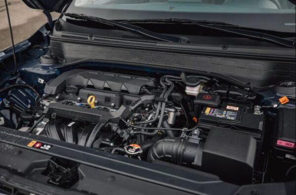 1st Generation Hyundai Venue engine view