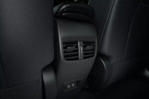 1st Generation Toyota Corolla cross Rear air vents
