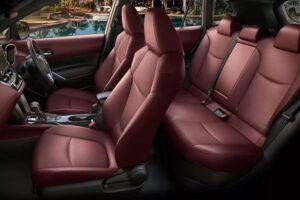 1st Generation Toyota Corolla cross full interior view