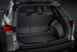 1st Generation Toyota Corolla cross luggage area view