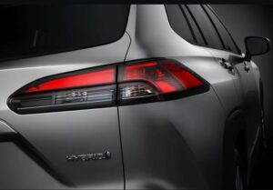 1st Generation Toyota Corolla cross tail light view