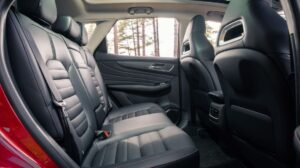 1st generation MGHS SUV Rear cabin quality