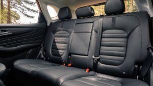 1st generation MGHS SUV Rear seats view
