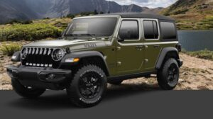 4th Generation Jeep Wrangler full view