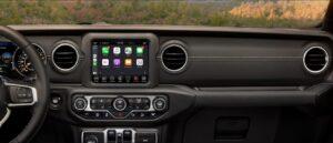 4th Generation Jeep Wrangler inteiror quality