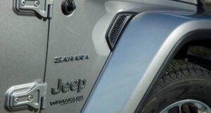 4th Generation Jeep Wrangler side printings