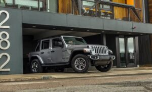 4th Generation Jeep Wrangler side view