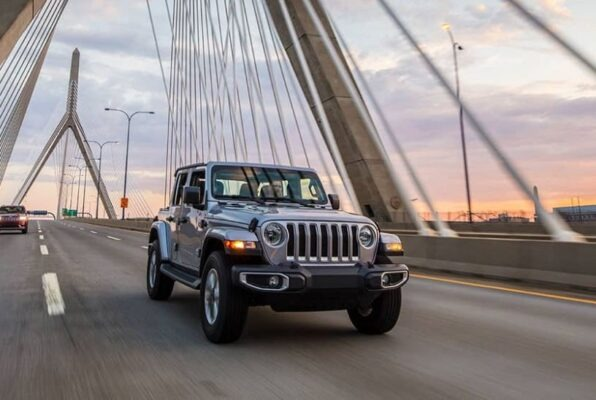4th Generation Jeep Wrangler title image