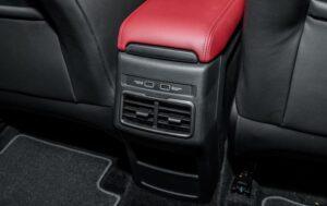 1st Generation Proton X50 SUV Rear air vents