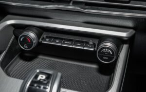 1st Generation Proton X50 SUV climate control buttons
