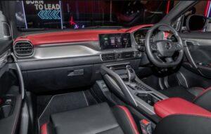 1st Generation Proton X50 SUV front cabin interior
