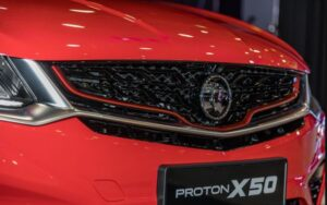1st Generation Proton X50 SUV front grille