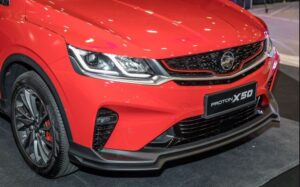 1st Generation Proton X50 SUV front headlamps