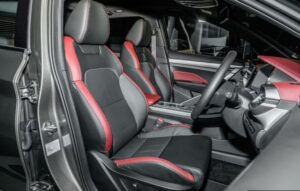 1st Generation Proton X50 SUV front seats