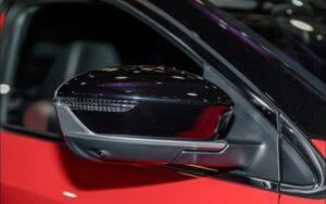 1st Generation Proton X50 SUV side mirror view