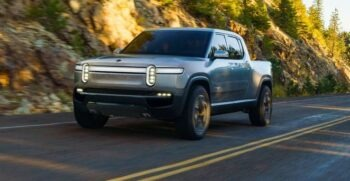 1st Generation Rivian R1T electric pickup truck feature image