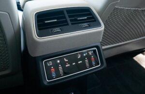 1st generation Audi E tron Electric SUV Rear air vents