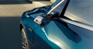 1st generation Audi E tron Electric SUV Side Mirror view