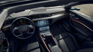 1st generation Audi E tron Electric SUV beautiful quality interior