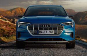 1st generation Audi E tron Electric SUV front view