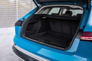 1st generation Audi E tron Electric SUV luggage area
