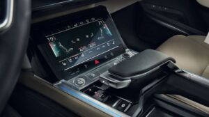 1st generation Audi E tron Electric SUV touch screen display