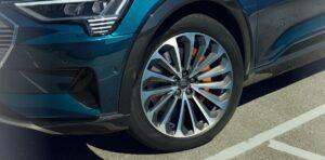 1st generation Audi E tron Electric SUV wheel