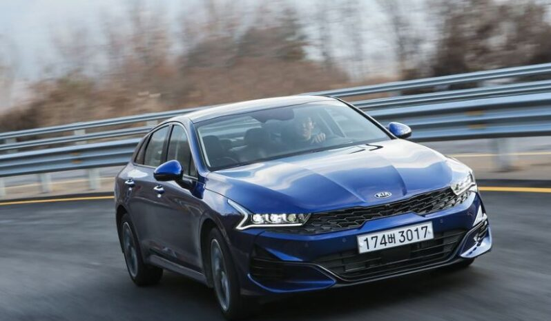 5th Generation KIA optima Sedan Blue feature image