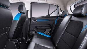 1st Generation BAIC EC3 EV hatchback Rear seats