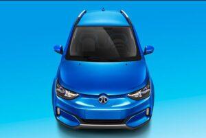 1st Generation BAIC EC3 EV hatchback front headlamps and fog lamps
