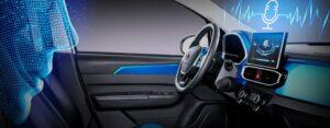 1st Generation BAIC EC3 EV hatchback intelligent voice recoginition