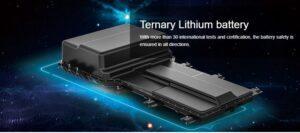 1st Generation BAIC EC3 EV hatchback ternary lithium battery