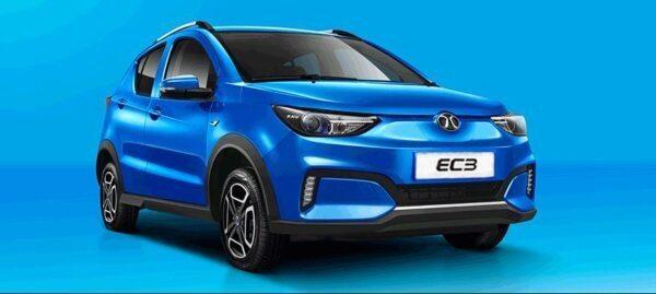 1st Generation BAIC EC3 EV hatchback title image