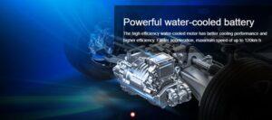 1st Generation BAIC EC3 EV hatchback water cooled battery