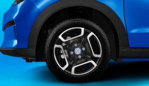 1st Generation BAIC EC3 EV hatchback wheel view