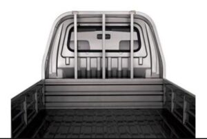 1st Generation FAW Carrier Pickup Truck Rear bed view