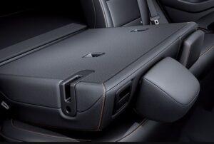 1st Generation Hyundai Ioniq Hybrid sedan Rear folded seat