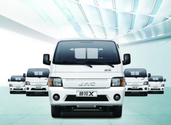 1st Generation Nissan JAC x200 Pickup Truck title image