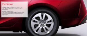 4th Generation Toyota Prius 15 inch lightweight aluminium wheels