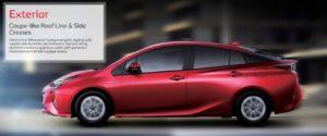 4th Generation Toyota Prius Sedan Exterior side view